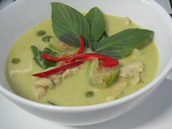 The Pirate Restaurant & Bar: Great Thai Green Curry