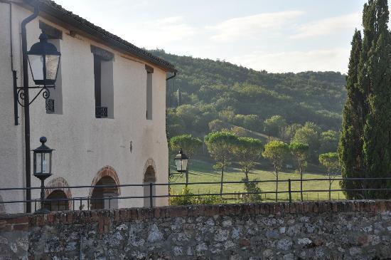 La Bagnaia Golf & Spa Resort Siena, Curio a Collection by Hilton: Panorama dalla camera