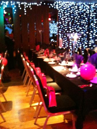 Holiday Inn Aberdeen West: One of our Tables - Wilma's Hen Party