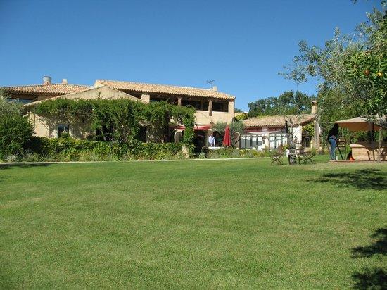 Auberge la Feniere: la terrasse