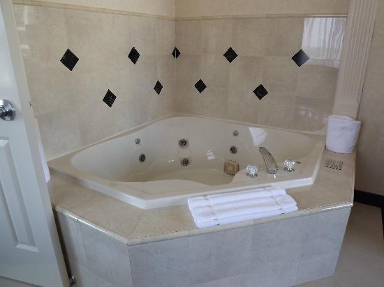 whirlpool in room picture of hilton garden inn charlotte. Black Bedroom Furniture Sets. Home Design Ideas