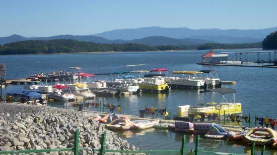 Mountain Harbor Marina dock
