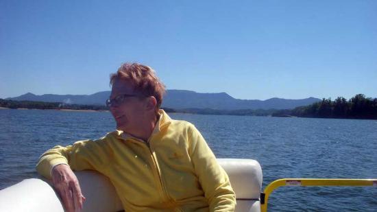 Mountain Harbor Marina: One happy participant :o)