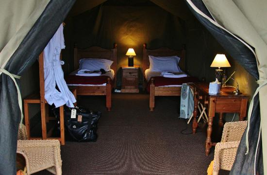 Livingstone Lodge: Our Luxury Tent