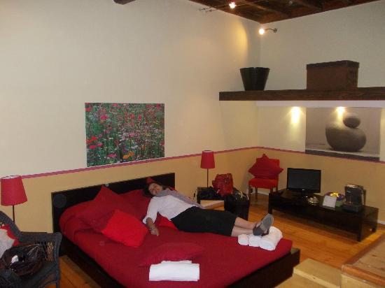 Relais Rome Sweet Home Navona: Main bedroom area