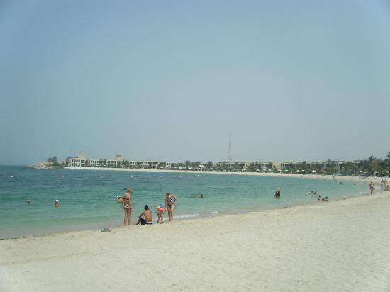 Hilton Ras Al Khaimah Resort & Spa: Beach near the villas