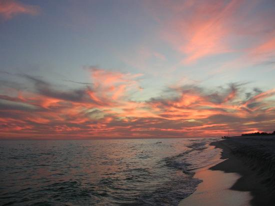 Navarre, FL: sunset on the beach