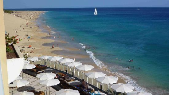 XQ El Palacete: vom Balkon Blick zum Strand