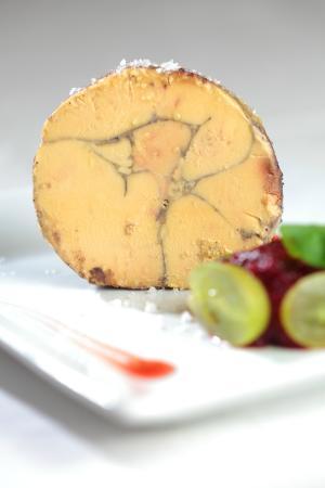 La Borie du Chevrier : Foie Gras Mi Cuit, marmelade Figue-Cassis