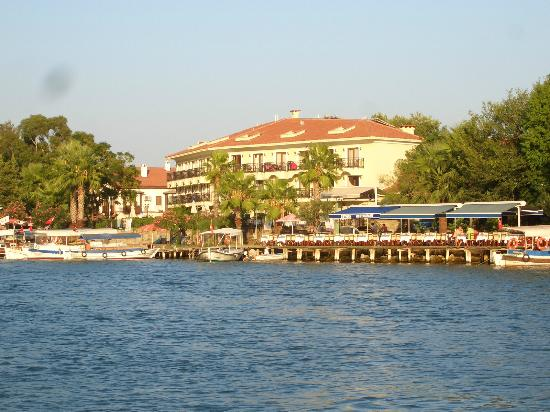 Dalyan Tezcan Hotel: View from the River