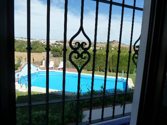 Hotel Vega de Cazalla: Aussicht aus dem Zimmer