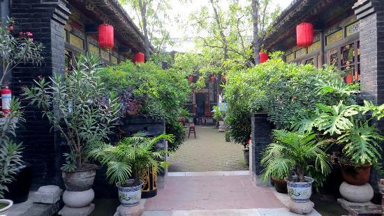 Pingyao Cheng Jia Hotel : courtyard