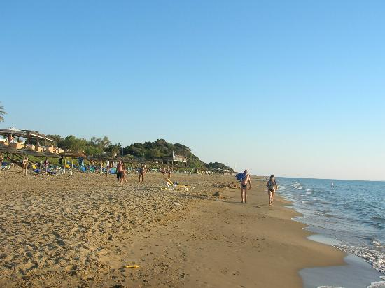 Robinson Club Kyllini Beach: spiaggia libera