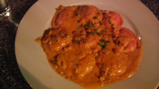 Bistro Mediterranean & Tapas Bar: Lobster Ravioli