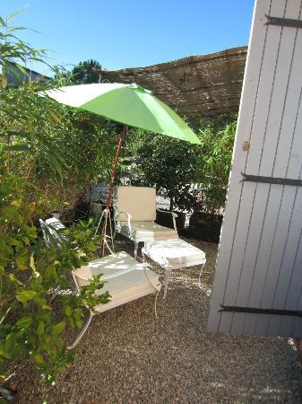 L'Oustalet : une terrasse privée