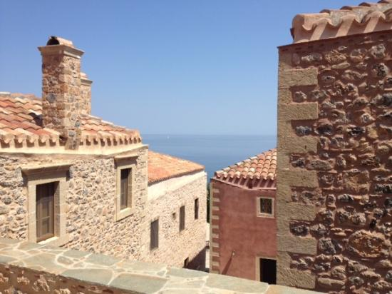 Theophano Art Hotel : View from Virgo Suite Terrace