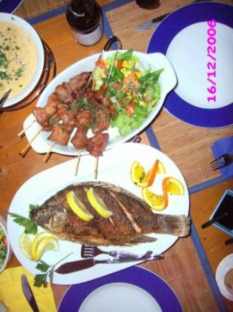 Sisterz: BBQ Spiesse, Tilapia Fisch