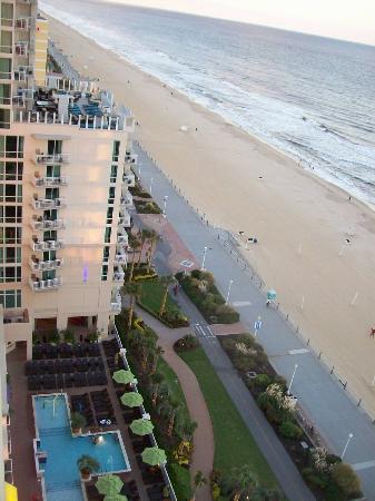 Ocean Beach Club: View from the gym