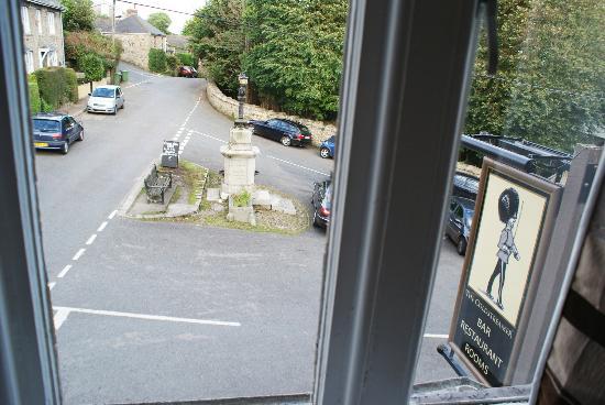 The Coldstreamer Inn: Blick aus Zimmerfenster