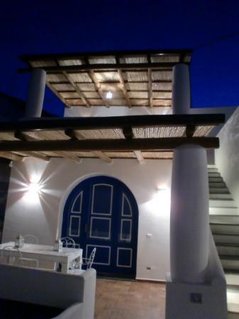 salinarte bed and breakfast: terrazzino stanza