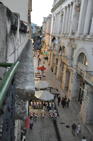 Flor da Baixa: The view from the room