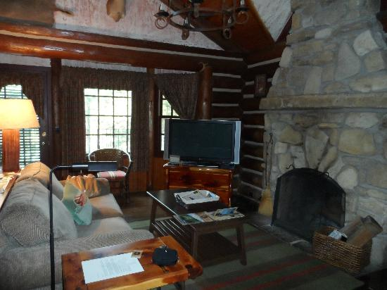 Big Cedar Lodge: our wondeful flat screen tv