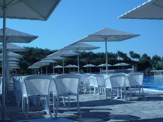 Akrathos Beach Hotel: pool area