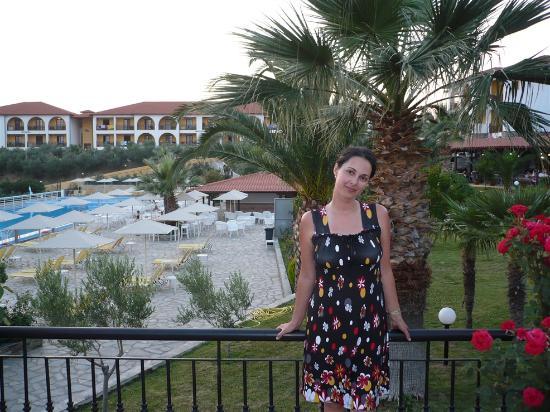 Akrathos Beach Hotel: hotek area