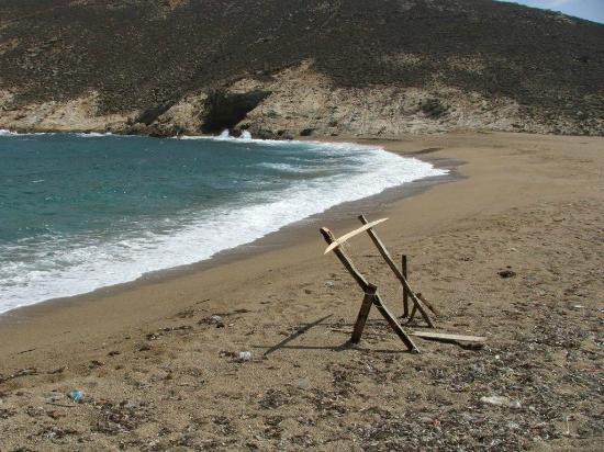 Fokos Taverna: The beach