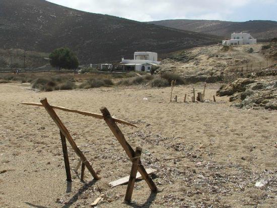Fokos Taverna: From the beach