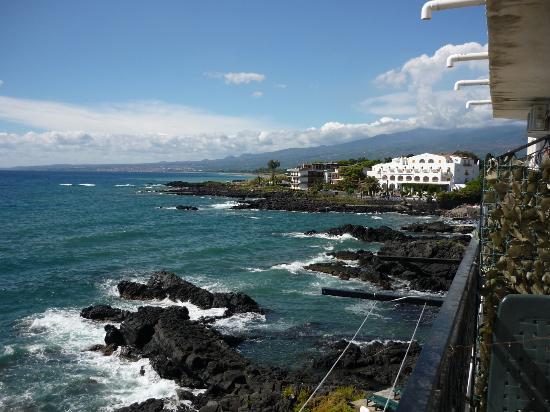 Hotel Orpheus: Aussicht von der Terrasse