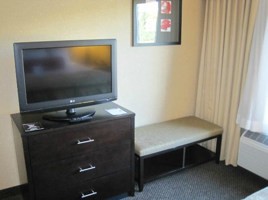 Cambria hotel & suites: Flat screen in bedroom