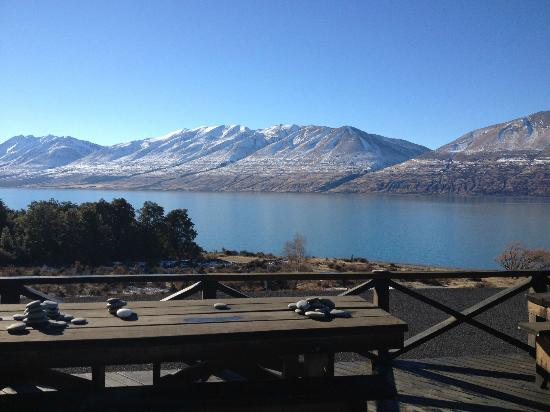 Lake Ohau Lodge: The view