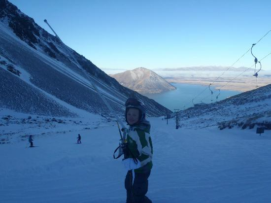 Lake Ohau Lodge: On the mountain