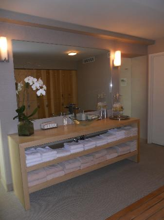 The Out NYC: Free Spa area for guests