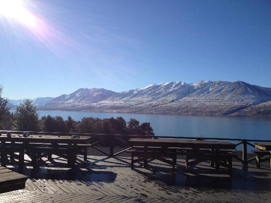 Lake Ohau Lodge: Amazing view!