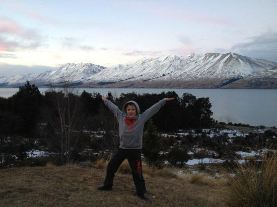 Lake Ohau Lodge: View