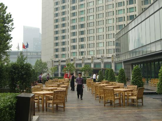 JW Marriott Hotel Beijing: Outside of the hotel