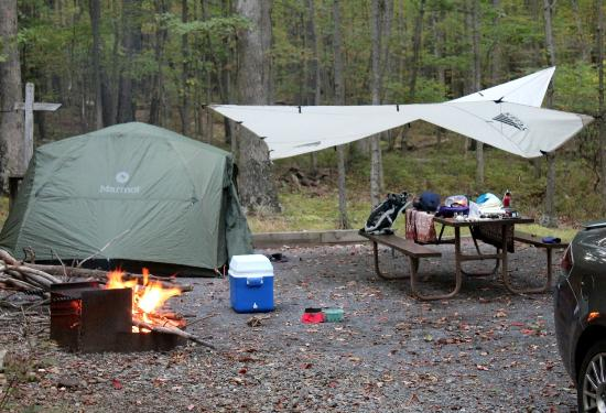 Rocky Gap State Park: Great camp pad.