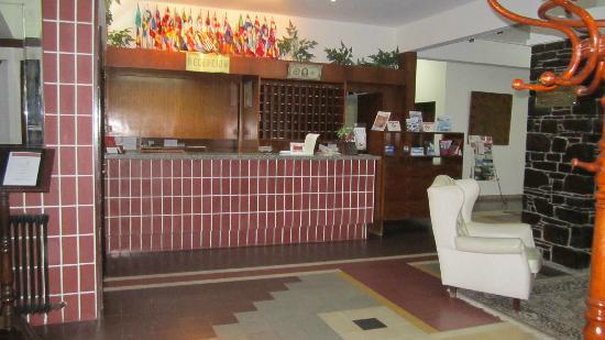 El Mirador Hotel and Spa: Recepción