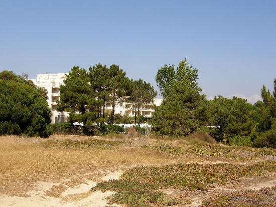 PortoBay Falesia : vue ext de l'hôtel