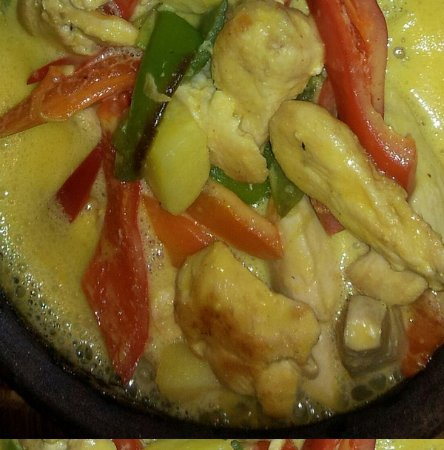 Buzz Grill & Seafood: Honey Chicken