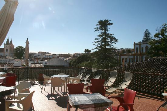 Azoris Angra Garden Plaza Hotel: Rooftop Terrace