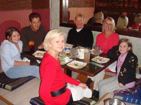 Royal Orchid Thai Cuisine: Traditional Seating