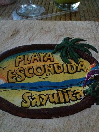 Playa Escondida: Hotel