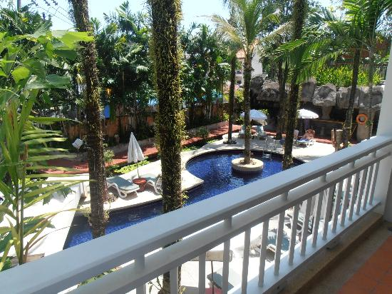 Sunset Beach Resort: View from our balcony.. Room #2206
