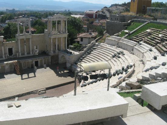 Plovdiv Roman Theatre: Roman theatre