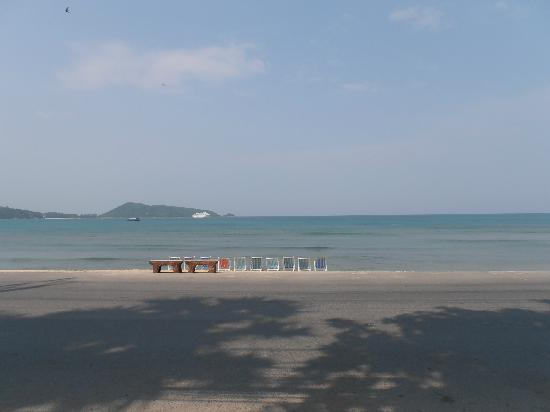 Sunset Beach Resort : View from fron of hotel