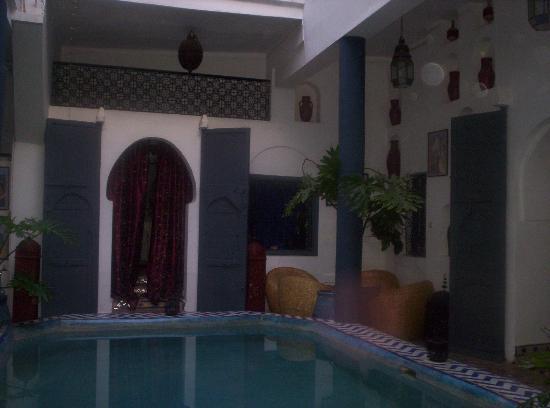 Riad Chouia Chouia : Le patio