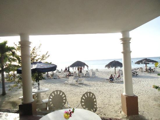 Beachcomber Club: Vue de la terrasse